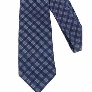 "Banana Republic, Blue Silk Tie, 3"" x 60"""